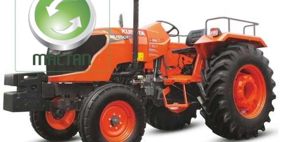 The Kubota Mu 5501 Tractor Model - Features And Overview